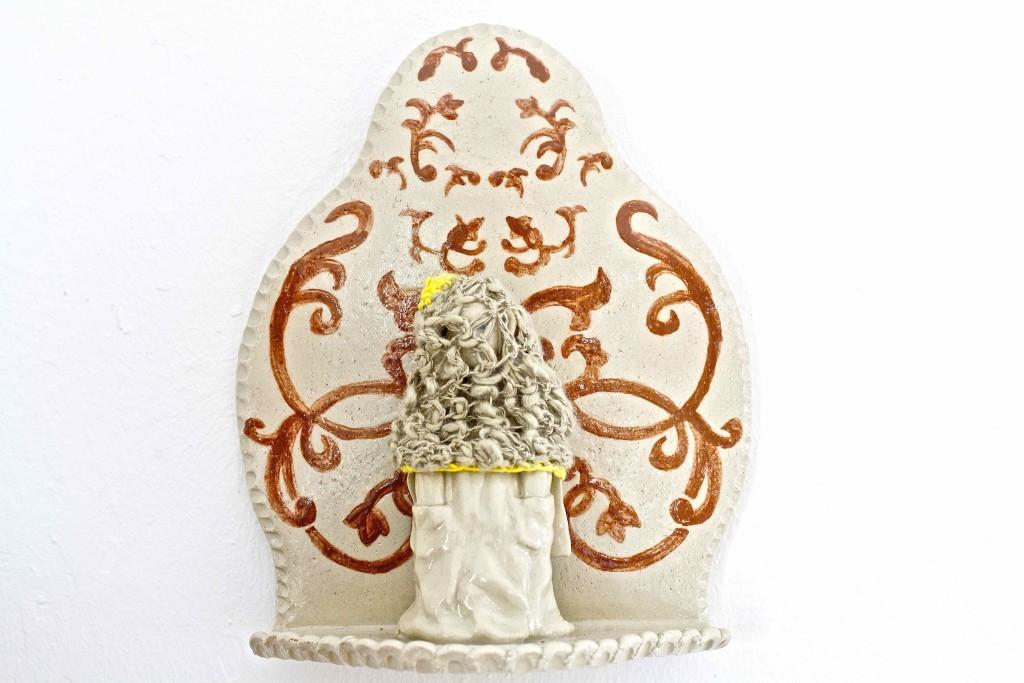 Maria unter einem Eierwärmer 2013